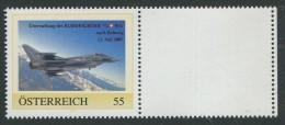 ÖSTERREICH / 8017180 / Eurofighter In Zeltweg Gelandet / Postfrisch / ** / MNH - Österreich