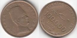 Turchia 100.000 Lira 1999 75th Ann. Republic Km#1078 - Used - Turchia