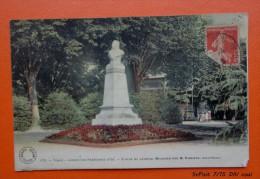 37 - TOURS - Jardin Des Prébendes D'Oë Et La Statue Du Général Meusnier - Tours