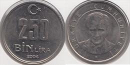 Turchia 250 Bin 2004 Km#1137 - Used - Turchia