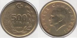 Turchia 500 Lira 1990 Km#989 - Used - Turchia