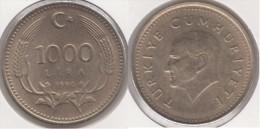 Turchia 1000 Lira 1990 Km#997 - Used - Turchia