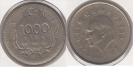 Turchia 1000 Lira 1991 Km#997 - Used - Turchia