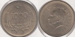 Turchia 1000 Lira 1993 Km#997 - Used - Turchia