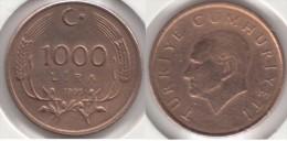 Turchia 1000 Lira 1995 Km#1028 - Used - Turchia