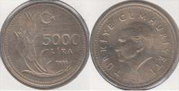 Turchia 5000 Lira 1993 Km#1025 - Used - Turchia