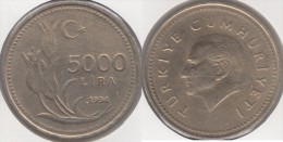 Turchia 5000 Lira 1994 Km#1025 - Used - Turchia