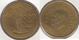 Turchia 5000 Lira 1995 Km#1029.1 - Used - Turchia