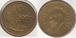 Turchia 5000 Lira 1996 Km#1029.1 - Used - Turchia