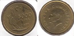 Turchia 5000 Lira 1998 Km#1029.1 - Used - Turchia