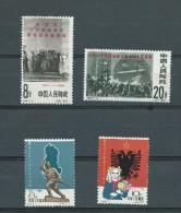 (A0193) Chine 1420/1421 + 1422/1423 *