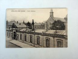Carte Postale Ancienne : CHALONS-SUR-MARNE : Asile D' Aliénés - Châlons-sur-Marne
