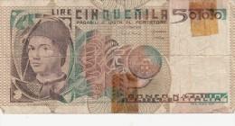 Banconote_Monete_Lotto Di 7 Biglietti: UNO DA 5.000 -6 DA MILLE 3+3-Buona Conservazione-AUTENTICO AL 100%-2 SCAN - 5000 Lire