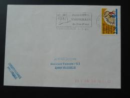 43 Haute Loire Yssingeaux Foire Exposition 1990 - Flamme Sur Lettre Postmark On Cover - Postmark Collection (Covers)
