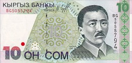 10 SOM  1997  UNC - Pick 14 - Kirghizistan