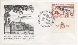 FDC - 1964 - YT N° 1422 - 1960-1969