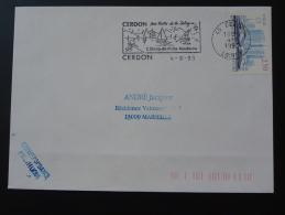 45 Loiret Cerdon Lac Sports Nautiques - Flamme Sur Lettre Postmark On Cover