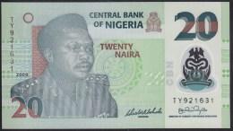 Nigeria 20 Naira 2009 P40 UNC - Nigeria