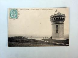 Carte Postale Ancienne : FOLLAINVILLE : La Tour Duval , Panorama De Mantes - France