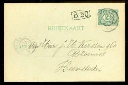 HANDGESCHREVEN BRIEFKAART Uit 1904 Van WINKEL Naar HEEMSTEDE  (9838o) - Periode 1891-1948 (Wilhelmina)