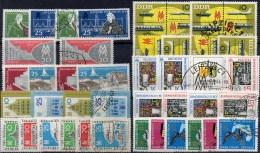 8 Sets Herbst-Messe Leipzig 1958 - 1965 DDR 649/0-1130/2 **/o 22€ Leipziger Herbstmesse Komplett Fair Lot Of GDR Germany - [6] République Démocratique