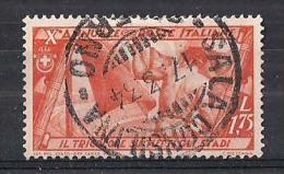 REGNO D'ITALIA   1932   MARCIA SU ROMA   SASS. 337     USATO   VF - 1900-44 Vittorio Emanuele III