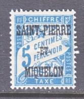 Saint-Pierre And Miquelon  J 10   * - Postage Due