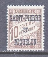 Saint-Pierre And Miquelon  J 11   * - Postage Due