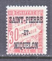 Saint-Pierre And Miquelon  J 14   * - Postage Due