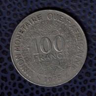 Etats De L´Afrique De L´Ouest 1975 Pièce De Monnaie Coin 100 Francs - Otros – Africa
