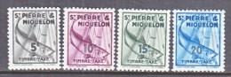 Saint-Pierre And Miquelon  J 32-5   *   FISH - Postage Due