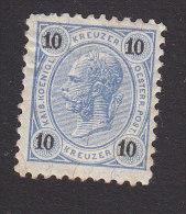 Austria, Scott #55, Mint Hinged, Franz Josef, Issued 1890