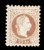 Austria, Scott #39, Mint Hinged, Franz Josef, Issued 1878