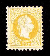 Austria, Scott #34, Mint Hinged, Franz Josef, Issued 1876