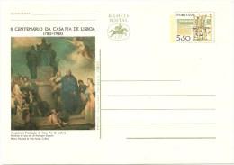 Postal Stationery - II Centenário Da Casa Pia De Lisboa 1780-1980 - Postal Stationery