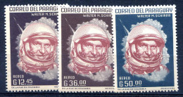 PARAGUAY - SPACE - COSMOS Mi # 1181/3 MNH VF - Paraguay
