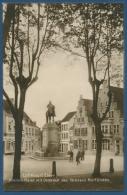 Cleve Kleiner Markt Mit Denkmal Des Gr. Kurfürsten Foto, Ungebraucht (AK371) - Kleve