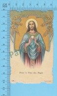 Italy-448 ( Voici Le Pain Des Anges  ) Santino Holy Card  Image Pieuse 2 Scans - Images Religieuses