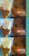 CARTES PREPAYEES  EKO CARD /XTS TELECOM   5e   (lot De 3)  6264 - Antilles (French)