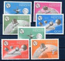 PARAGUAY - SPACE - COSMOS Mi # 1471/1477 SPECIMEN - Paraguay