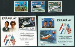 PARAGUAY - SPACE - COSMOS Mi # 3420/2 + Bl 365/6 SPECIMEN - Paraguay