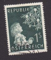 Austria, Scott #590, Used, Child And Christmas Tree, Issued 1953 - 1945-60 Gebraucht