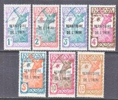 ININI  1-7    * - Unused Stamps