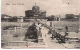 ROMA - Castel Sant' Angelo - Ed. Uff.Rev. Stampa - Ponti