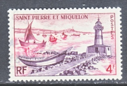 SAINT PIERRE Et MIQUELON  354   (o)   LIGHTHOUSE - St.Pierre & Miquelon