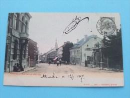 MARCHE - Rue De La STATION ( O.v.s. Edit L. FORTEMPS ) Anno 1907 ( Zie Foto´s Voor Details ) !! - België