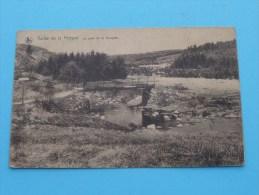 Vallée De La Hoëgne Le Pont De La Vecquée ( F. MISSON N° 70 ) Anno 1922 ( Zie Foto´s Voor Details ) !! - Waimes - Weismes