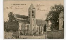 CPA 91 ESSONNES L EGLISE 1902 - Essonnes