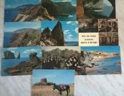 10 CART. SARDEGNA (28) - Cartes Postales