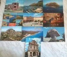 10 CART. SARDEGNA (37) - Postcards